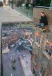Julian Beever - Super bohaterowie - Batman