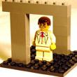 Złudzenie z klocków lego