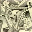 M.C.Escher - Relativity